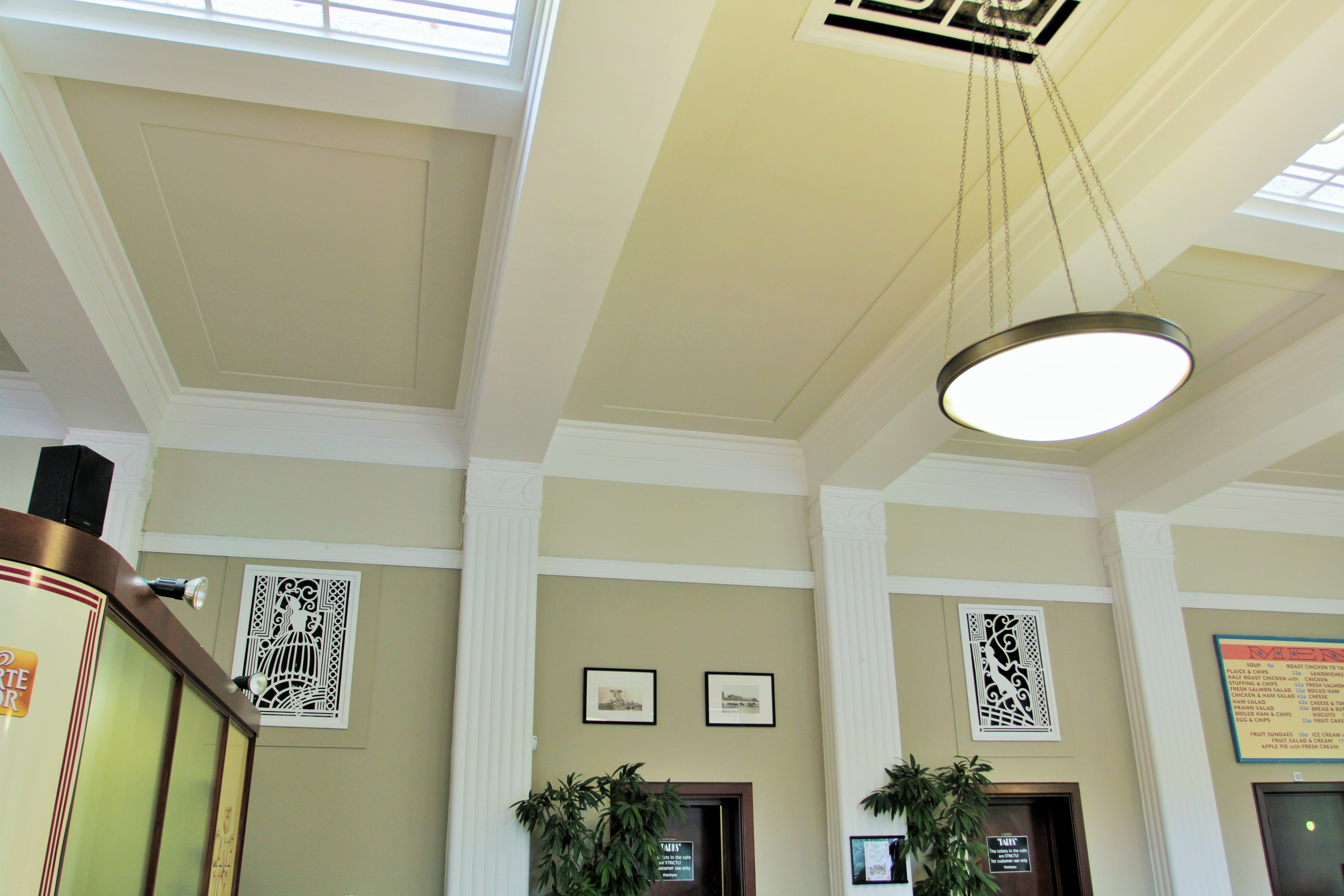 Ceiling Lights Blackpool : Stanley park cafe local studies library blackpool