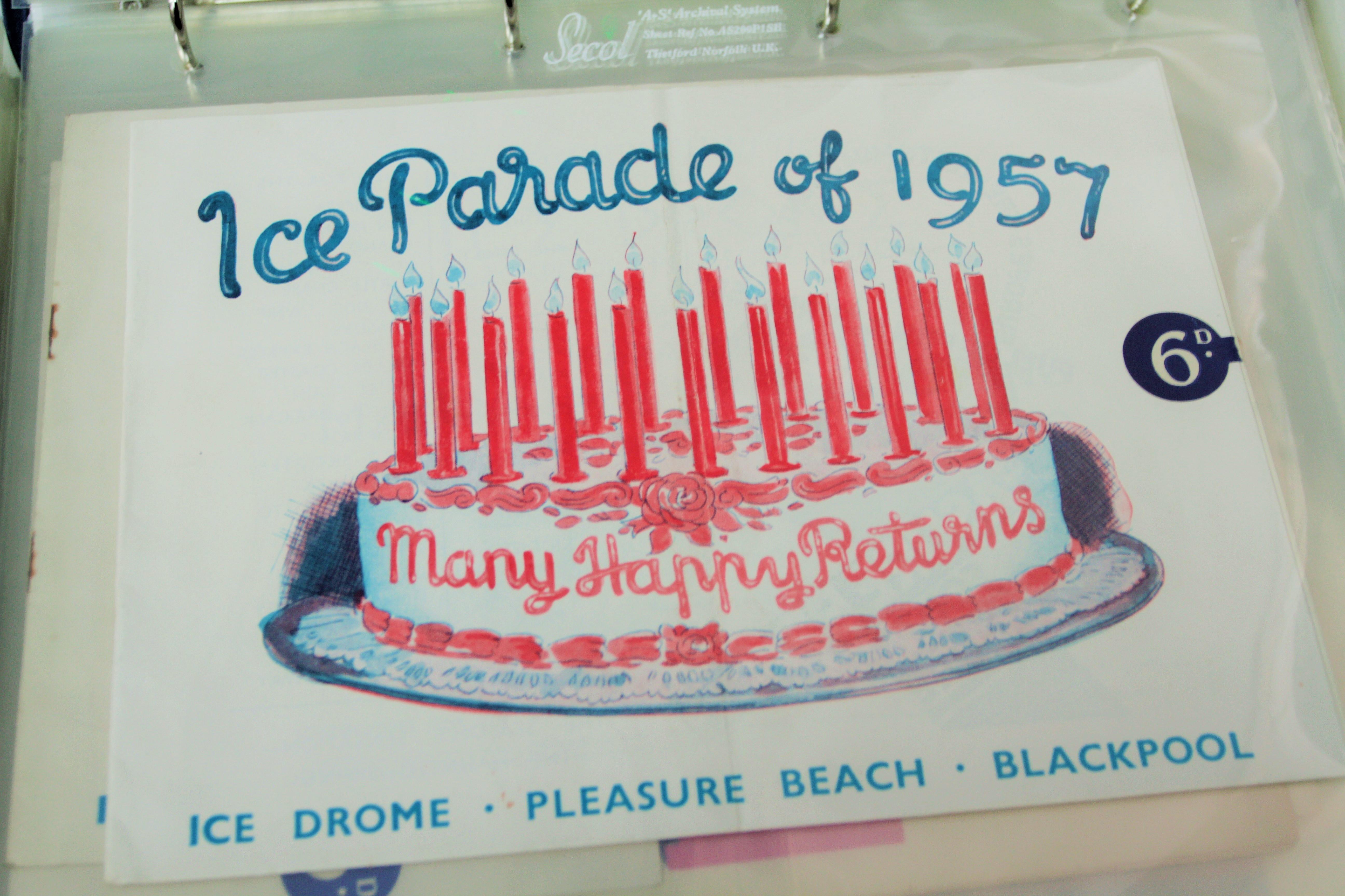 Blackpool pleasure beach ice shows