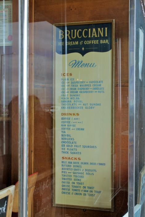Brucciani's ice cream parlour, Morecambe