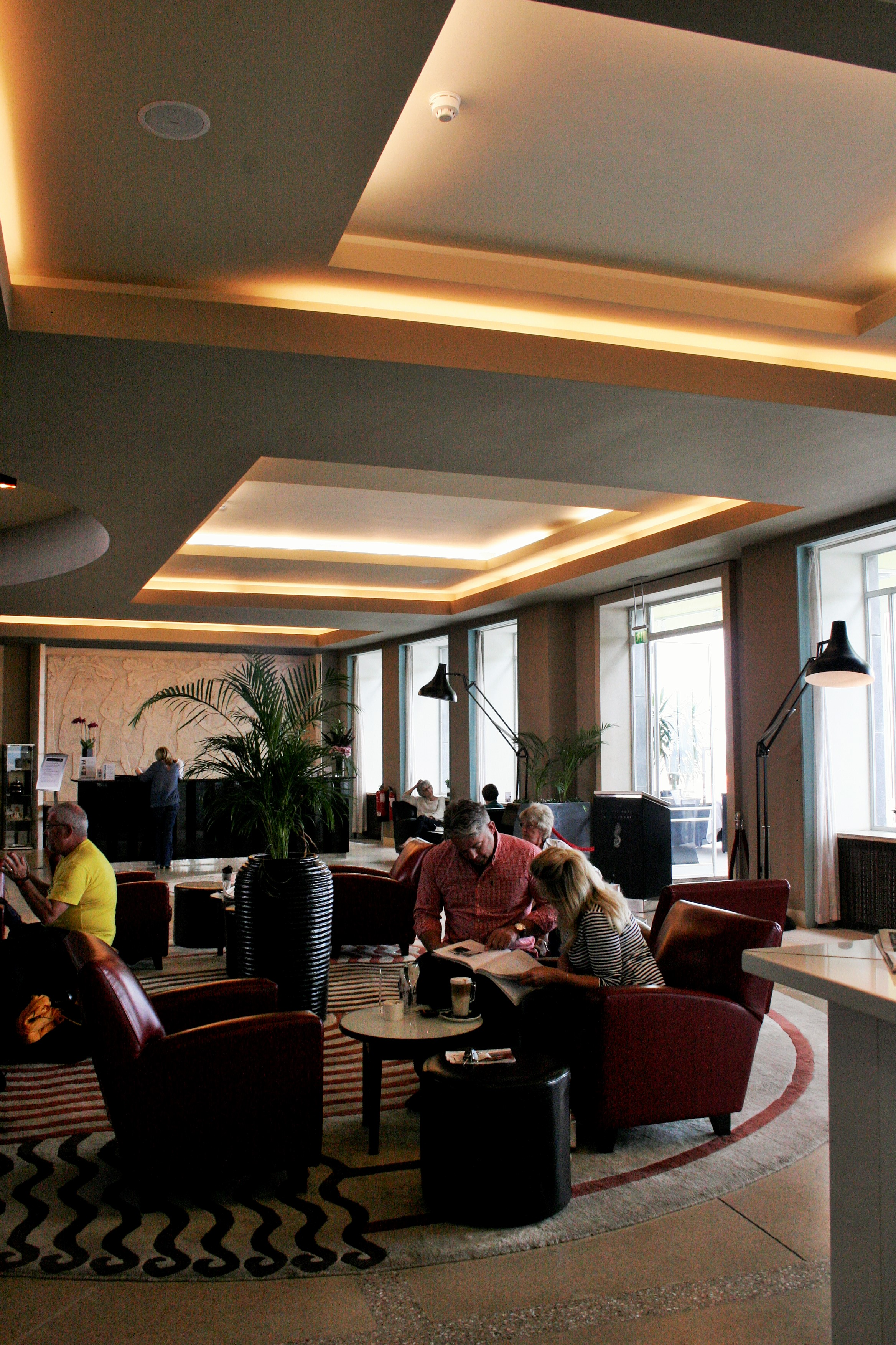 Foyer Im Hotel : An overnight visit to the midland hotel morecambe