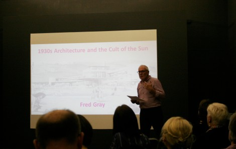 Professor Fred Gray talking about 1930s Architecture and the Cult of the Sun